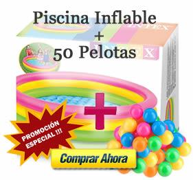 promcocion-piscina-inflable+50 pelotas